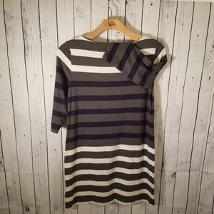 Tommy Hilfiger Striped Knit Dress NWOT Large